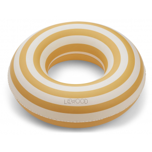 LIEWOOD - BALOO SWIM RING STRIPE YELLOW MELLOW/CREME