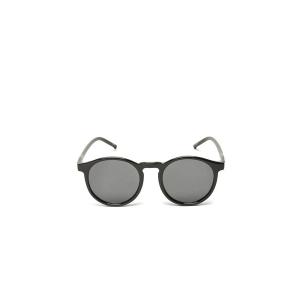 Solbriller svart rund