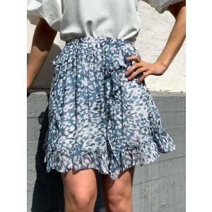 Clouds Mw Short Skirt