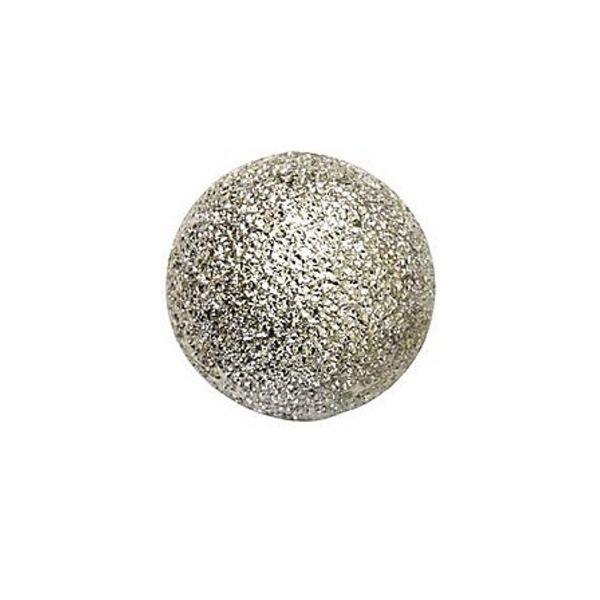 Metallperler Ø10 Sølvglit. 8pk
