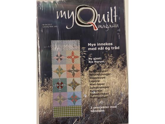 MyQuilt Nr. 04 - 2017  Mye innekos med Nål og tråd