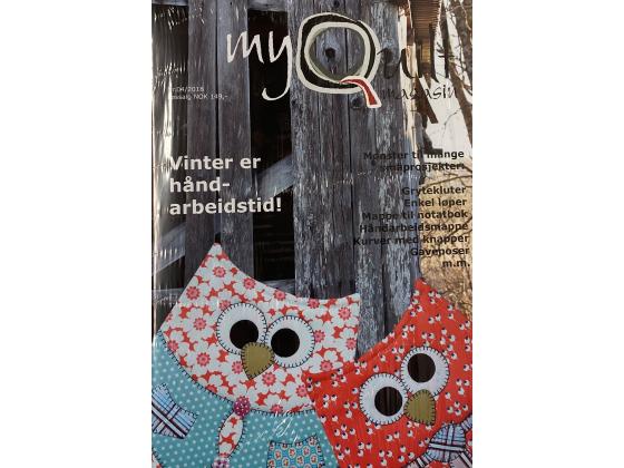 MyQuilt nr. 04 - 2018 Vinter er håndarbeidstid