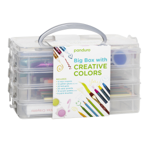 Big Box with Creative Colors