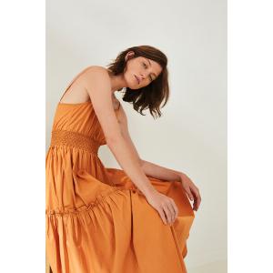 Carlotta kjole caramel