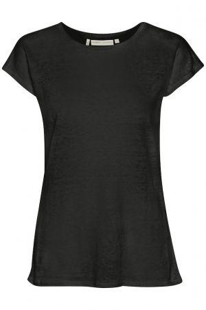 Faylinn O T-Shirt Black