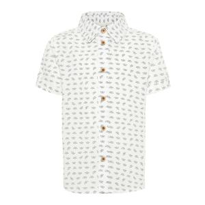 Steve skjorte med kort erm