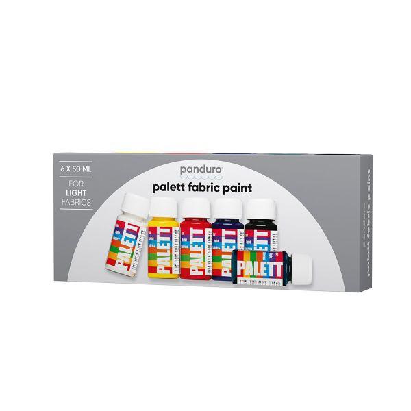 Palett 6x50ml Lyse stoffer