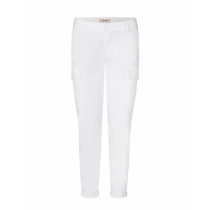 Abbey Paper Cargo Pant, White