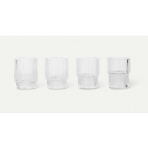 Ripple small Glass - 4pk
