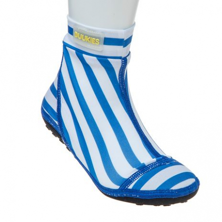 DUUKIES - BADESOKKER BLUE STRIPES