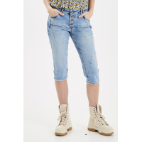 Pulz Rosita shorts light blue