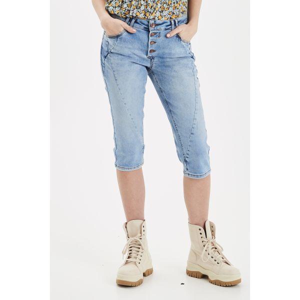Pulz Rosita shorts light blue