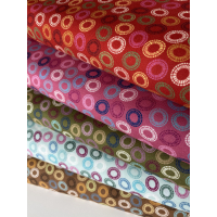 Quilters Combination SirklerFast stoff i 100 % Bommull