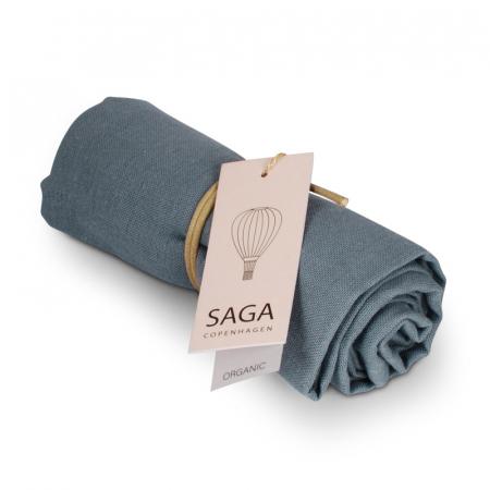 SAGA COPENHAGEN - MUSLIN KLUT MOONLIGHT BLUE
