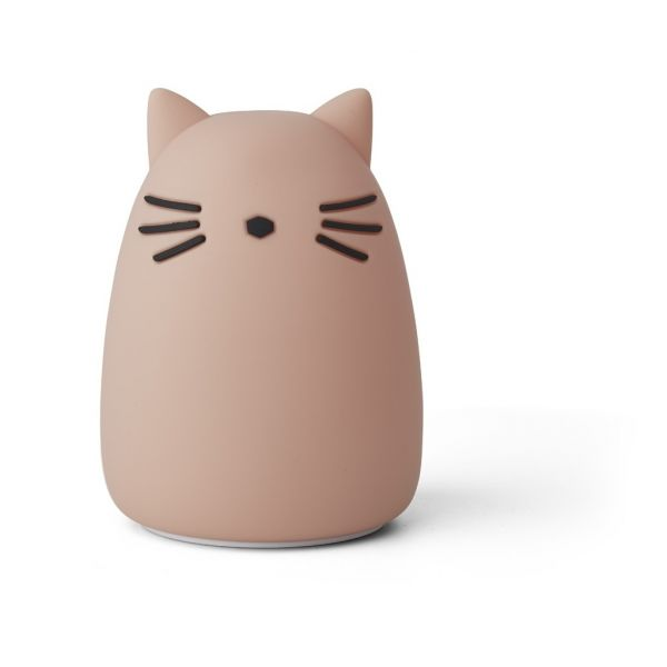 LIEWOOD - WINSTON NATTLAMPE CAT ROSE