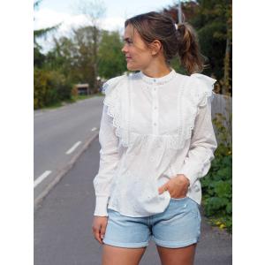 Izabel Anglaise Shirt, White