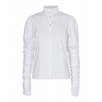 Cocouture Sandy Poplin Puff Shirt