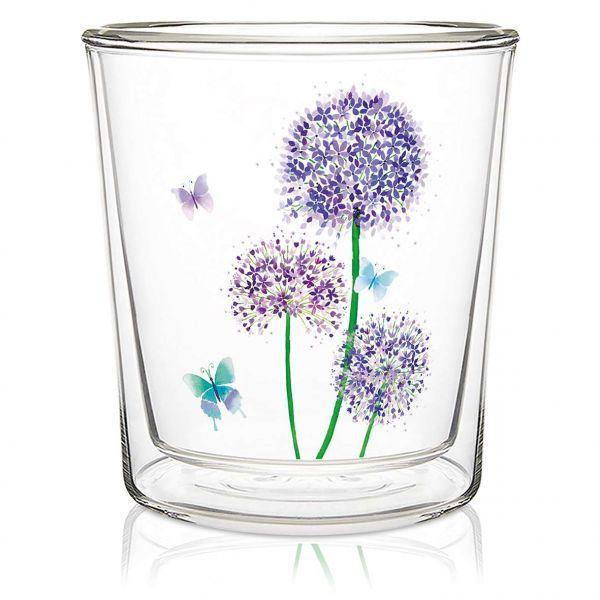 Dobbeltvegget glass Allium
