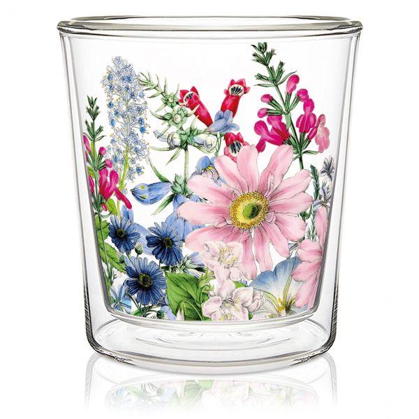 Dobbeltvegget glass Floriculture
