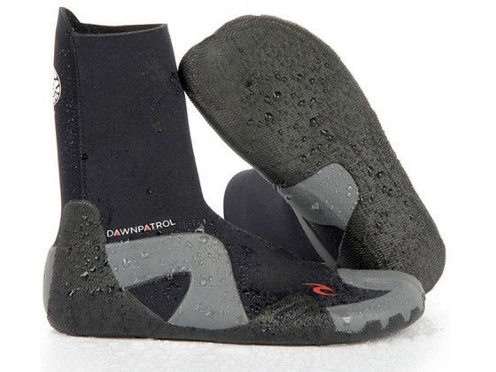 Rip Curl Dawn Patrol 3mm sko med rund front