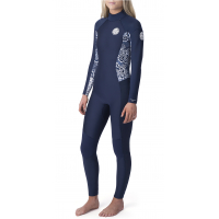 Rip Curl Dawn Patrol 3/2mm Back Zip våtdrakt til damer Blå