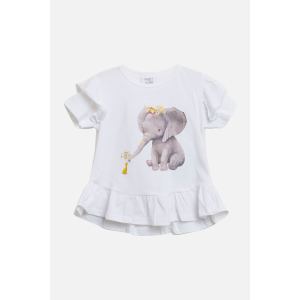 Athena t-shirt Elefant Mini