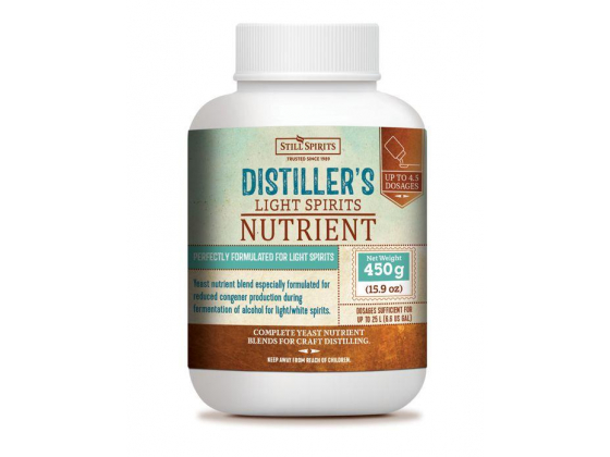 Distiller's Nutrient Light Spirits 450g - Still Spirits 12 gram