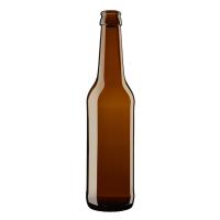 Kasse med 0,33 Liter Flasker