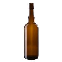 Kasse med 0,75 Liter Patentkork Flasker