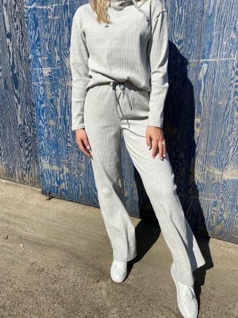Carine Hoodie Grey