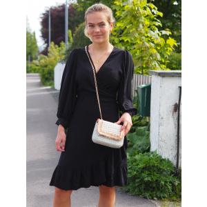 Ellery Wrap Dress, Black
