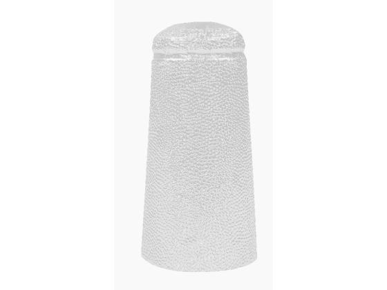 Aluminiumskapsler, Hvite 100stk