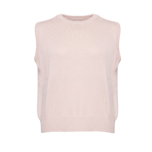 Alie Knit Vest Rose
