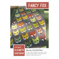Quilt Kit Fancy Fox 50in x 62in, incl. binding & pattern