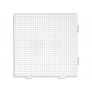 Hama Midi Piggplate hvit firkant