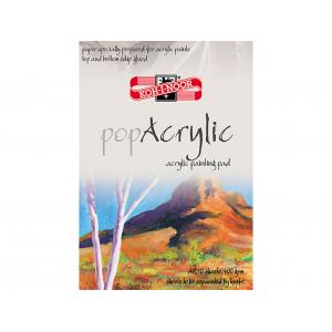 Koh-i-Noor Pop Acrylic A4 - Akrylmalingsblokk
