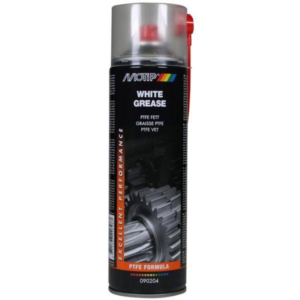Motip PTFE hvitt sprayfett