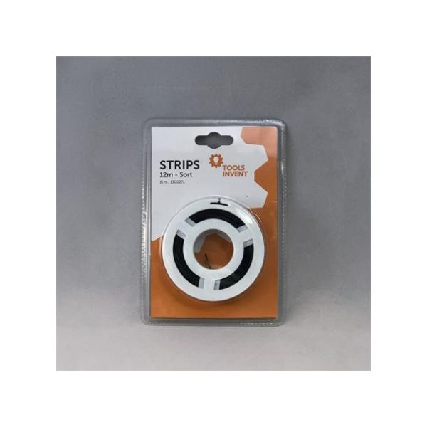 Smart Strips 12m Sort Refill bånd