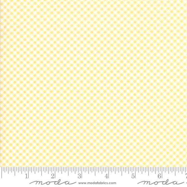 Catalina yellow gingham