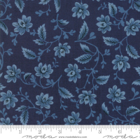 Nancy's needle 1850 blue floral