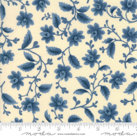 Nancy's needle 1850 creme floral