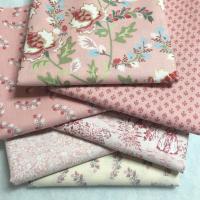 Madame Fleur rosa stoffpakke 30 cm.