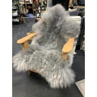 Saueskinn pelssau grå