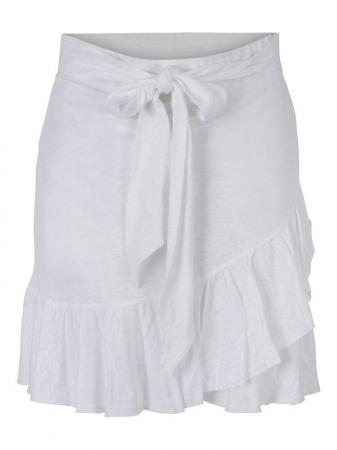 Juliette Linen Skirt White