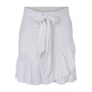 Juliette Linen Skirt White