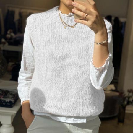 Kala Vest White