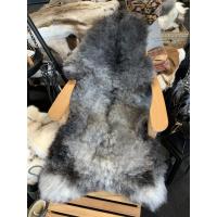 Saueskinn 120-130cm gråmelert