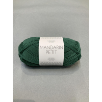 Mandarin Petit mørk grønn 8052