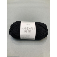 Mandarin petit svart 1099
