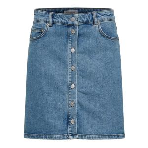 Rose Bayside Blue Denim Skirt
